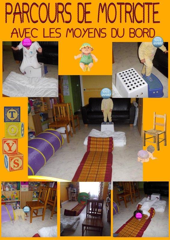 parcours de motricit maison. Black Bedroom Furniture Sets. Home Design Ideas