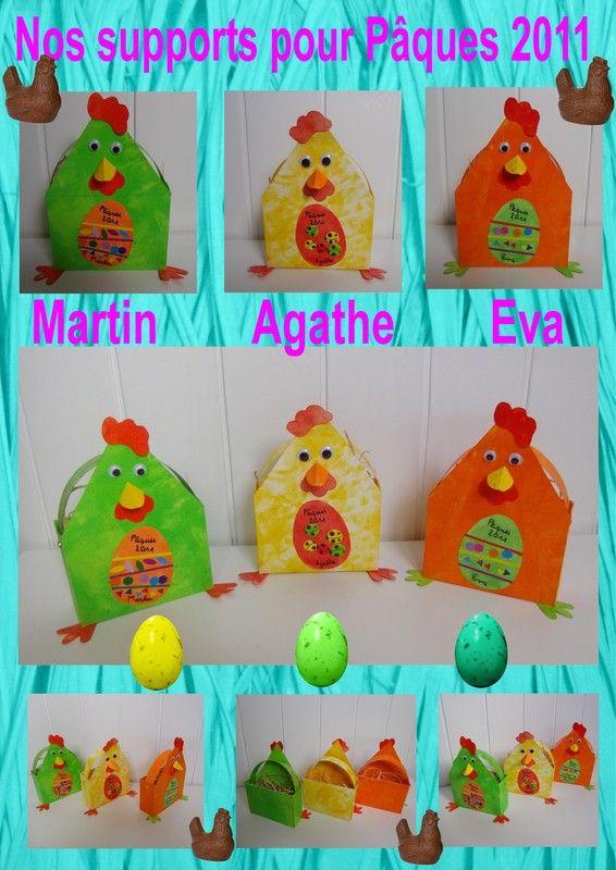 Activites pour paques page 4 - Panier poule paques ...