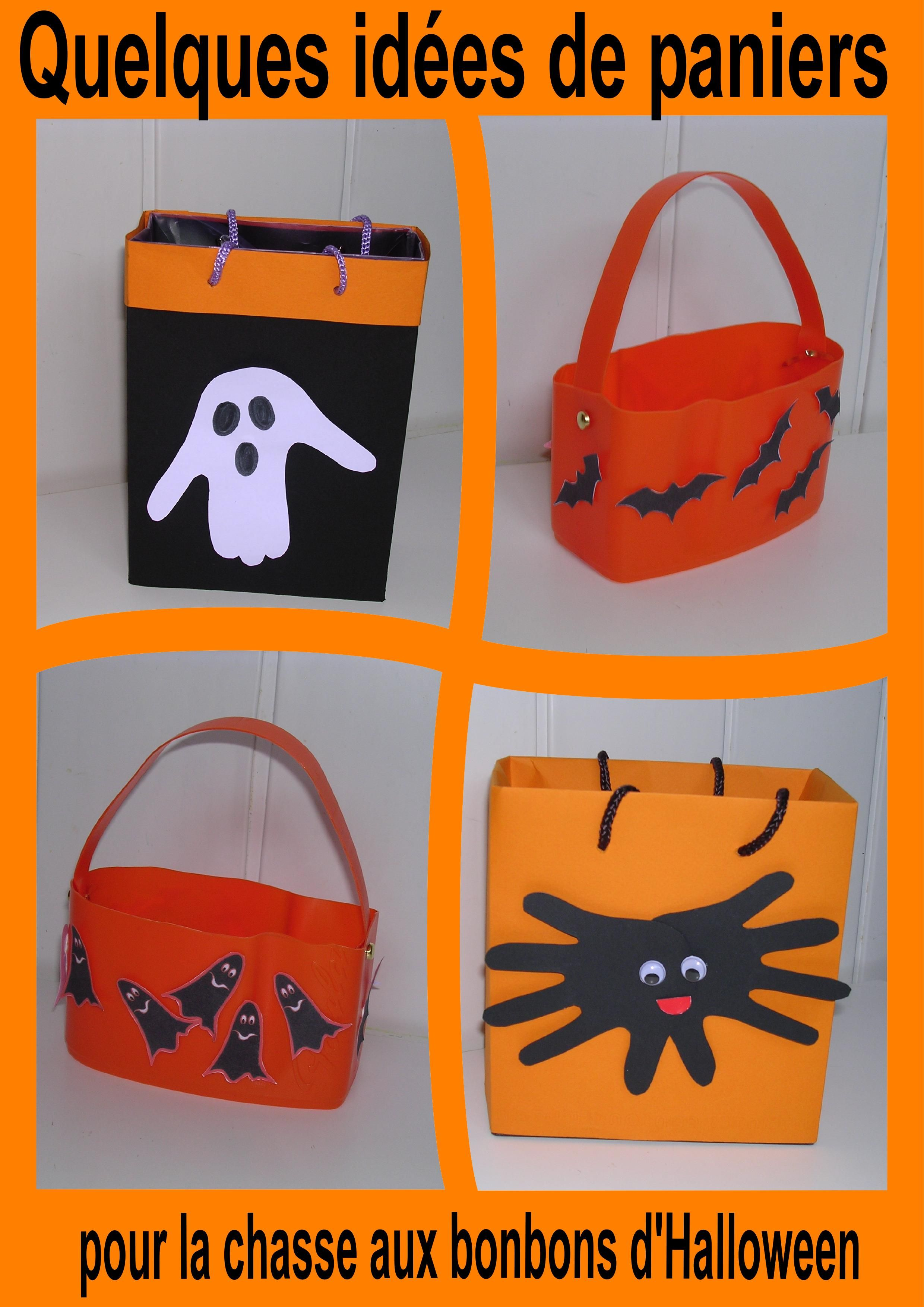 Activites pour halloween page 3 Bricolage maternelle halloween