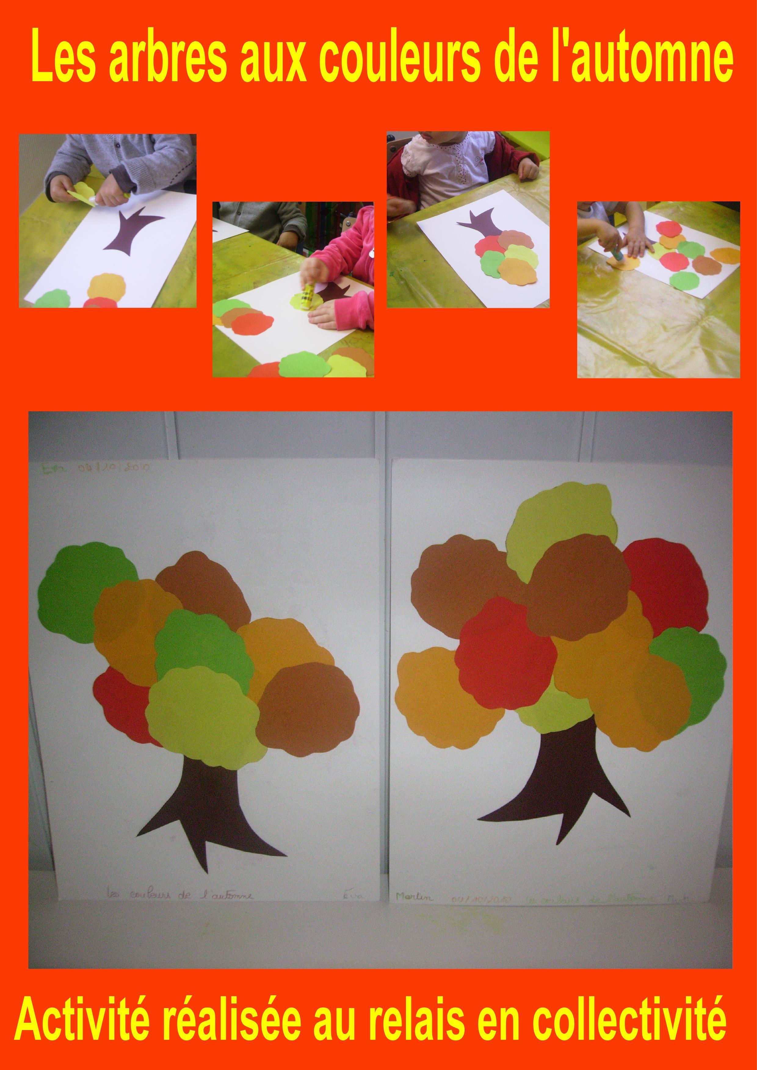 Des arbres aux couleurs automnales