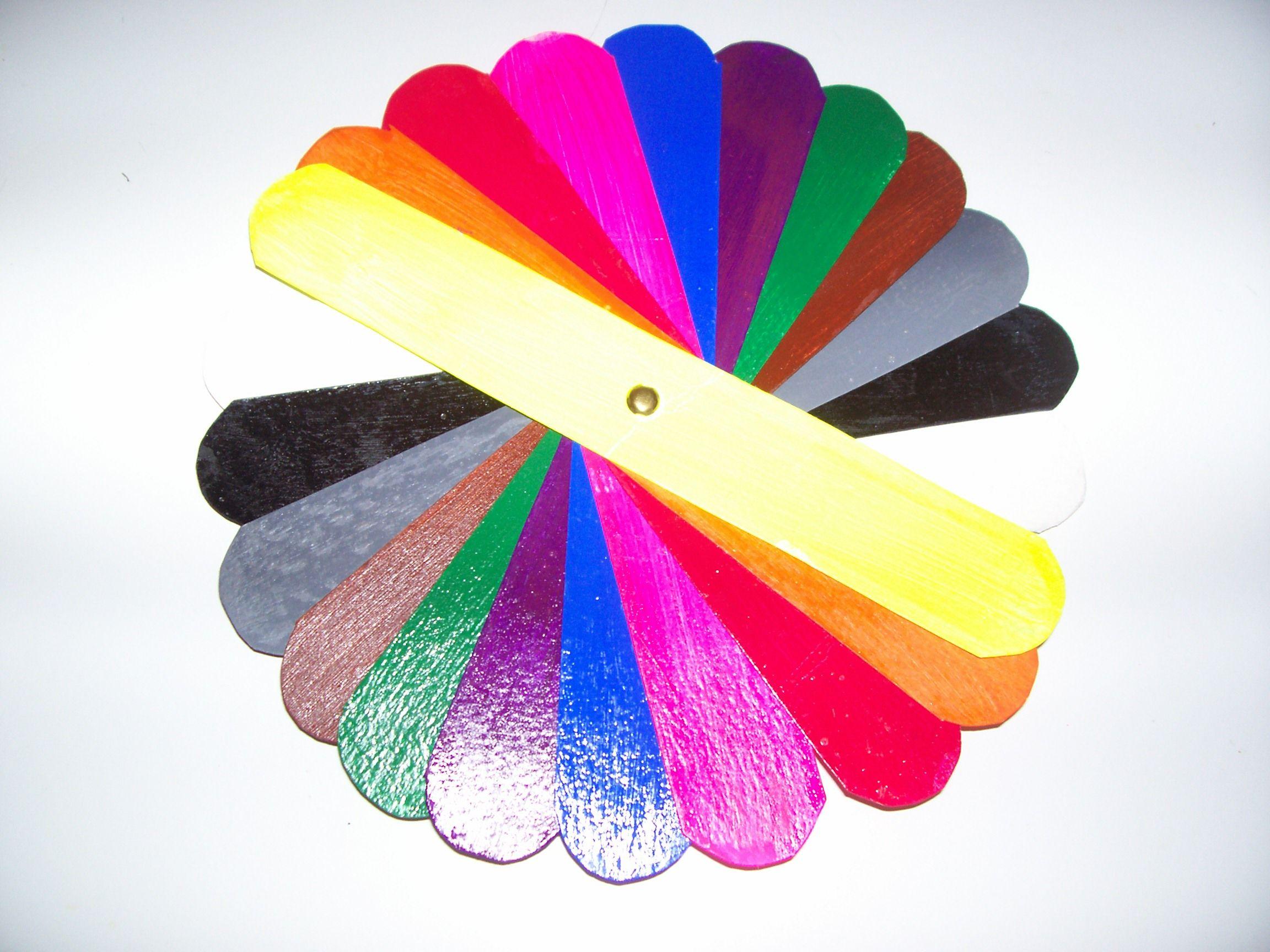 La roue des couleurs - Roue chromatique des couleurs ...